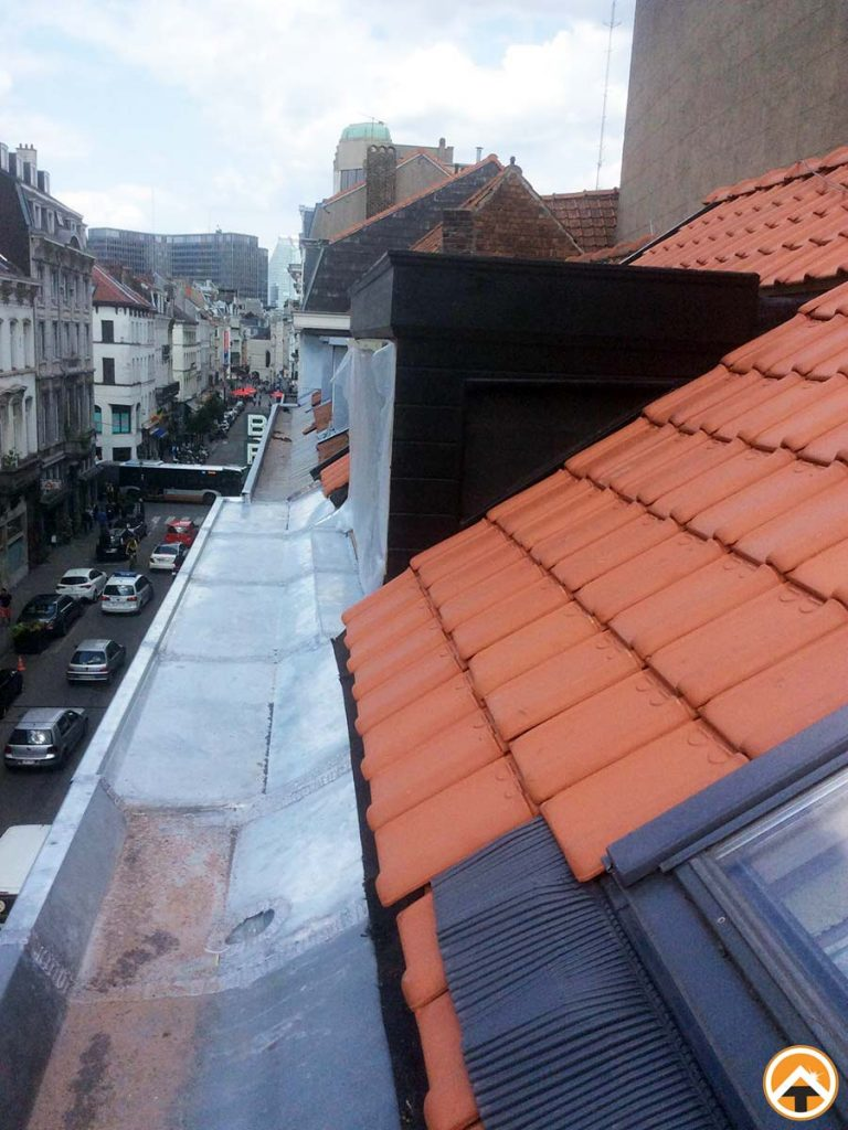 Re?novation charpente lucarne, toiture tuiles, cre?ation acce?s nouvelle terrasse | Toiture ...
